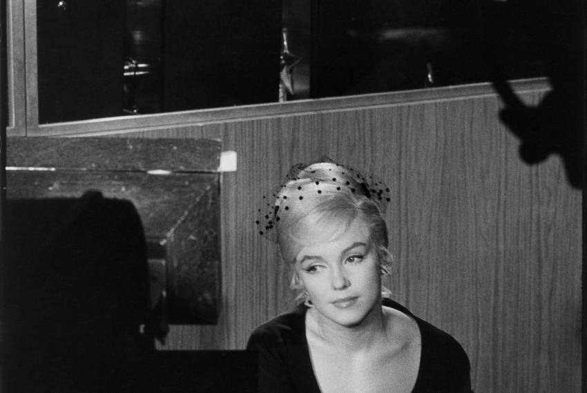 Marylin Monroe, 1960; © Fondation Henri Cartier Bresson / Magnum Photos – od septembra dalje v Galeriji CD